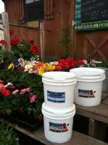 Our 2 gallon, or 3.5 gallon compost buckets
